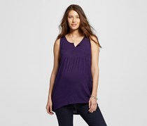 Maternity Girl Women's Tank Tops Honest, Purple