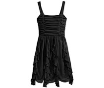 Crystal Doll Women's Corkscrew Dress, Black