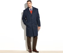 Michael Kors Men's Madison Cashmere-Blend Overcoat, Navy