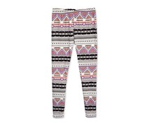 Epic Threads Graphic-Print Leggings, Holiday Ivory