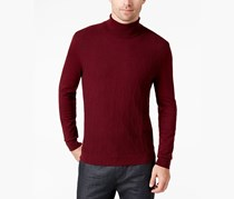 Alfani Men's Diamond Turtleneck, Port