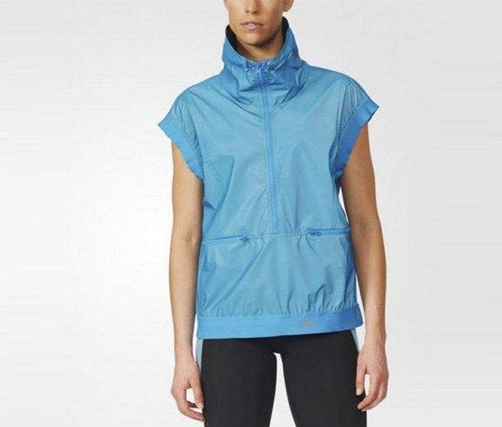 Women Run Reflective Gilet Jacket, Blue