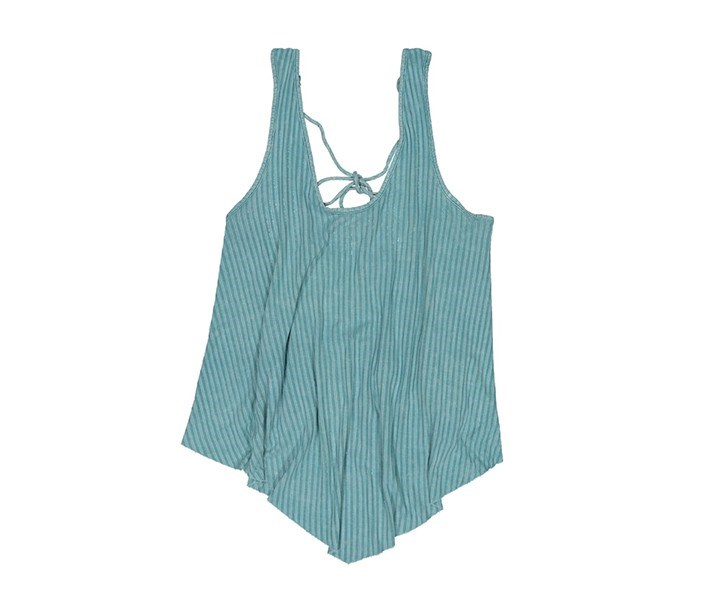 Women Sleeveless Top, Teal