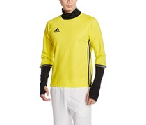 Adidas Men Con16 TRG Sport Top, Yellow/Black