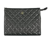 Christian Lacroix Women's  Quilted Clutch, Black