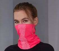 Reflector Multifunctional Scarf, Pink