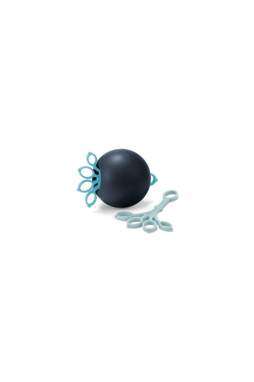 Finger Exercise Ball, Dark Blue/Turquoise