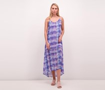 Show Me Your Mumu Turlington Snake Print Maxi Dress, Blue Combo