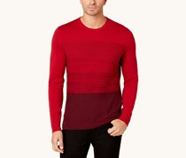 Alfani Men's Colorblocked Sweater, Port