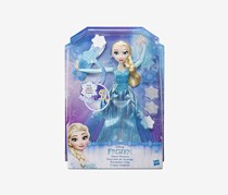 Hasbro Disney The Frozen Snow Powers Elsa Doll, Blue