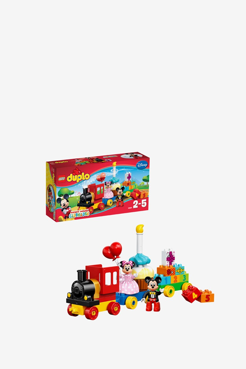 Mickey And Minnie Birthday Party Building Kit, Red/Pink/Black/Blue