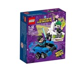 Lego DC Super Heroes Mighty Micros: Nightwing Vs.The Joker Building Kit, White/Blue/Purple/Black