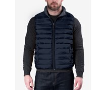Hawke & Co. Out Fitters Men's Big & Tall Reversible Puffer Vest, Navy