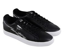 Puma Clyde Trapstar Shoes, Black