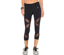 Body Language Sienna Capri Leggings, Black