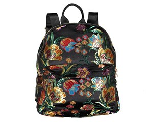 Rampage Women's Floral Backpack, Black Combo