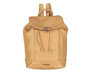 Rampage Women's Hardware Logo Backpack, Almond