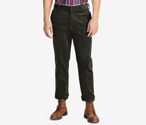 Men's Stretch Corduroy Pants, Caper Green