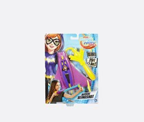 DC Super Hero Girls Slingshot Flying Batgirl Figure, Purple/Yellow