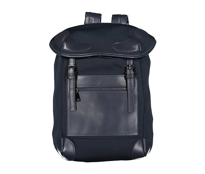 Diligence Neoprene with Vegan Leather Trim Bags, Navy