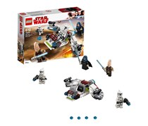 Lego Star Wars Jedi And Clone Troopers Battle Pack, White/Black/Blue