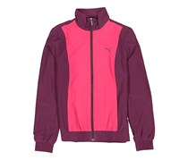 Puma  Women's Colorblock Jacket, Purple/Pink