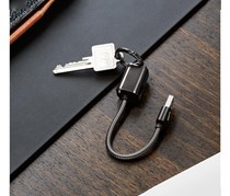 Charging Cable For Smartphone, Black