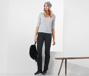 Women's Soft Shell Pants, Anthracite