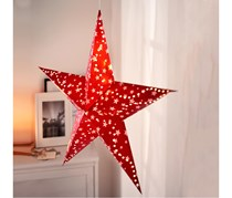 LED Paper Star, Red