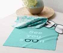 Glasses Cleaning Cloths Set of 2, Turquoise