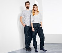 Rain Trousers Unisex, Dark Blue