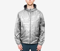 Hawke Co. Outfitter Mens Reversible Hooded Jacket, Silver