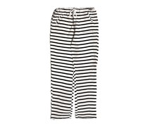 Guess Kid's Girl's Striped Pant's, Black/White