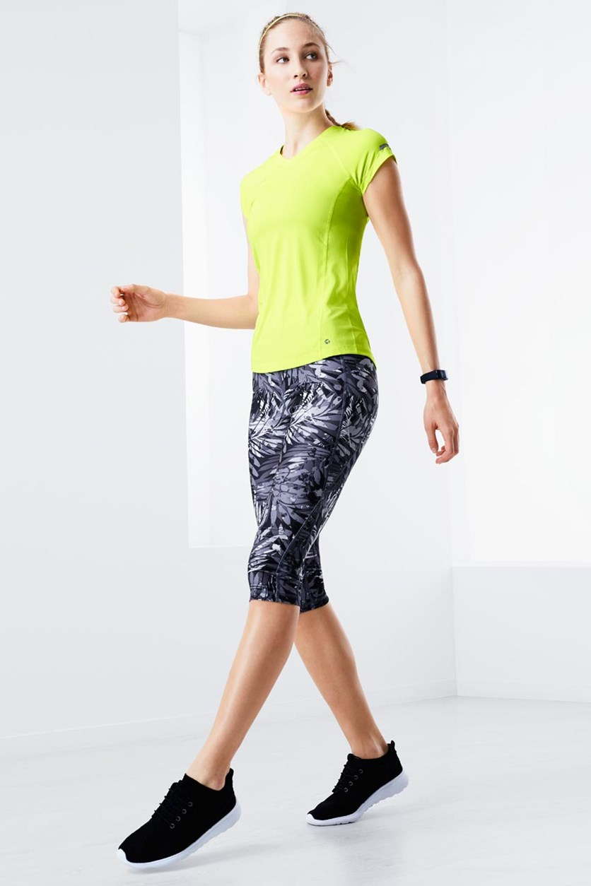 Women's 3/4 Sports Tight, Anthracite