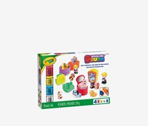 Crayola Modelling Dough Pet Salon Deluxe Set, White