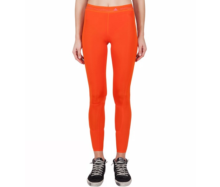 By Stella McCartney Running Tights, Orange