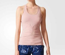 Adidas Studio Clima Tank Top, Pale Salmon