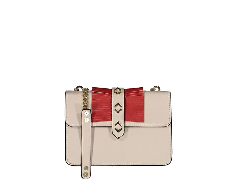 eneration Women's Dylan Cross Body Bag, Sand/Cinnabar