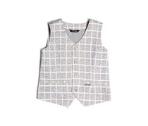 Guess by Marciano Printed Chamber Vest, Gray Combo