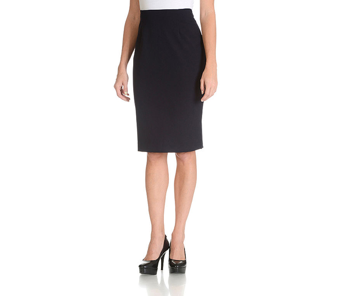 Larry Levine Pencil Skirt, Navy