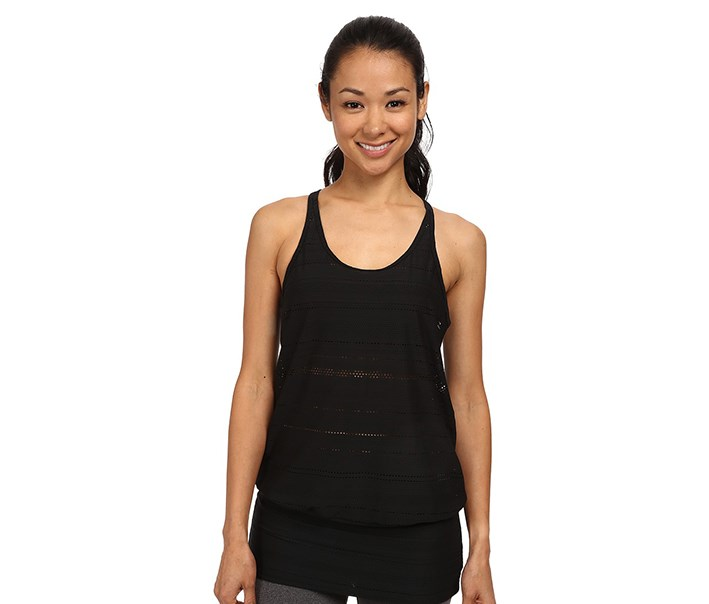 Women's 'Ambrosia' Racerback Top, Black