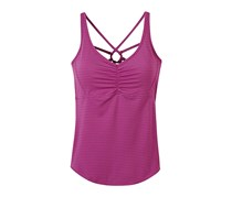 Women's Dreaming Top, Orchid Pinstripe