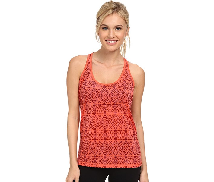 Women's Luca Tank, Neon Orange