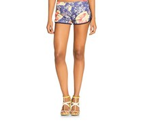 Guess Women's Printed Short, Purple