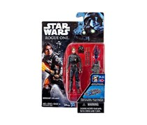 Star Wars Rogue One Jyn Erso Action Figure, Navy Combo