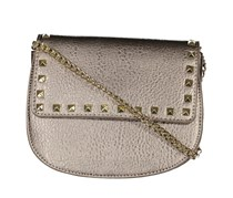 BCBGeneration Women's Fiona Cross Body Bag, Pewter