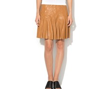 Guess Women's Pleated Skirt, Brown