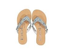 Bebe Girls Slip 0n Sandals, Denim Light Blue