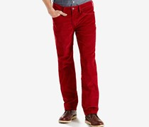 Levis 514 Straight Fit Bedford Pants, Sun Dried Tomato