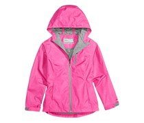 Hawke & Co. Baby Girl Outfitter Hooded Rain Jacket, Pink